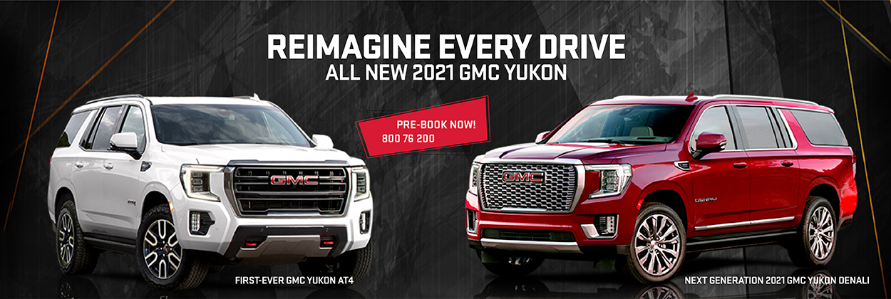 All New GMC Yukon 2021